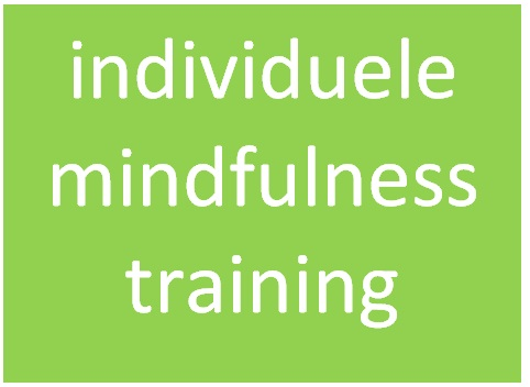 button individuele mindfulnesstraining