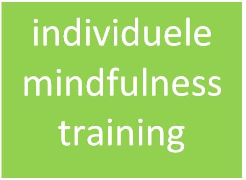 button individuele mindfulnesstraining