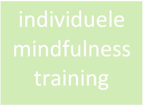 LICHT individuele mindfulnesstraining