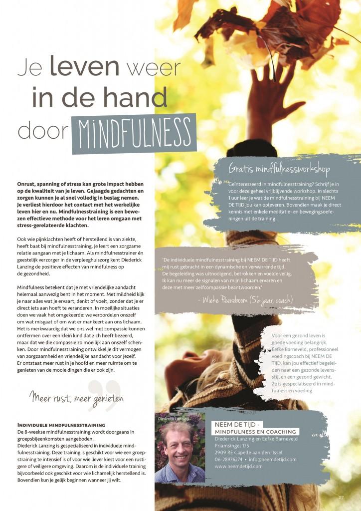 artikel mindfulnesstraining